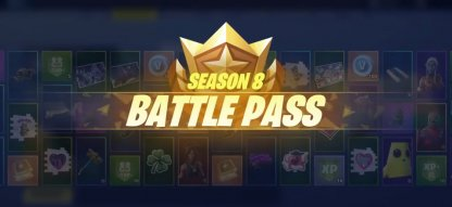 Received from Purchasing the Season 8 Battle Pass