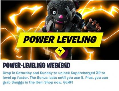 Power-Leveling Weekend