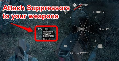 Attach Suppressors To Your Weapons