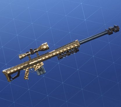 GOLDEN SCALES Wrap - Sniper Rifle