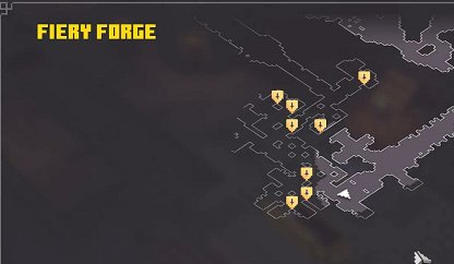 Check Your Map For Core Locations