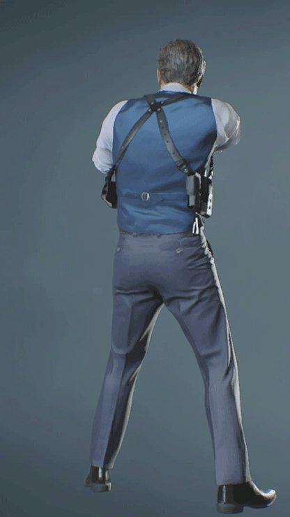 Leon - NOIR Pistol Back
