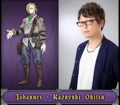 Johannes Japanese Voice Actor - Kazuyuki Okitsu