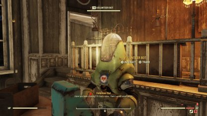 Fallout 76, Vendor Locations List