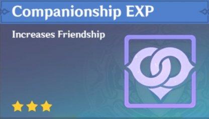 Earn Companionship EXP