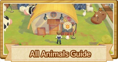 All Animals & Livestock Guide