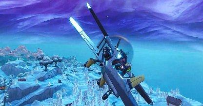 Fortnite Battle Royale Challenges Season 7 Week 7 Destroy a Flying X-4 Stormwing