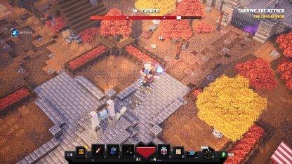 First Boss Found In Minecraft Dungeons