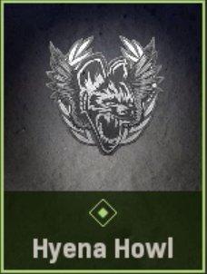 Hyena Howl Emblem