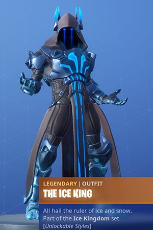 Fortnite The Ice King Skin Review Challenge Leveling Rewards