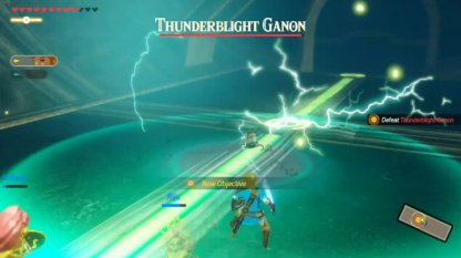 Escape From The Thunderblight Ganon