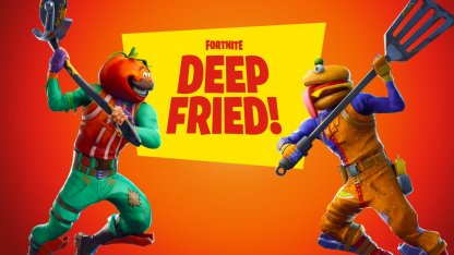 Survive the Lava & Rivals in Food Fight - Deep Friend LTM