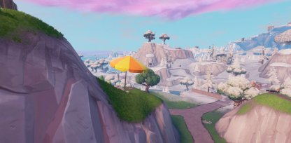 Southwest of Salty Springs Close Up