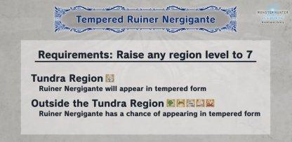How To Unlock Tempered Ruiner Nergigante