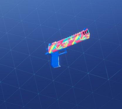NEON TROPICS Wrap - Handgun