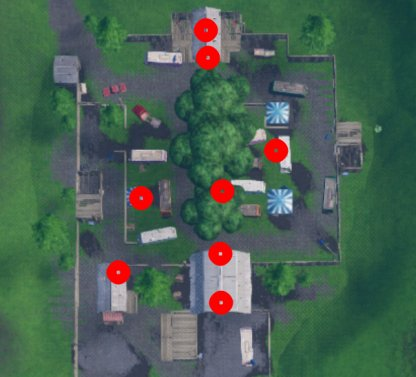 Fortnite Search Chests Or Ammo Boxes At Hotel Or Rv Park Locations
