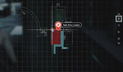 Flash Drive Location