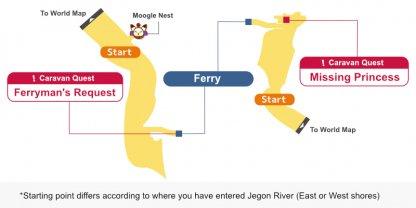 Jegon River Map