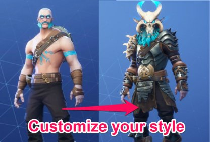 RAGNAROK Unlockable Progressive Cosmetics