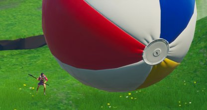 Bounce A Giant Beach Ball In Different Matches - 14 Days Of Summer Challenge