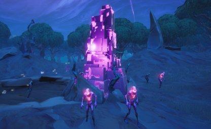 Fortnitemares Challenge 4 Destroy Cube Fragments