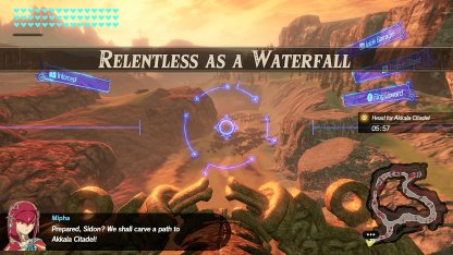 Relentless As A Waterfall - Level & Characters