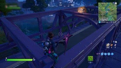 Purple Steel Bridge