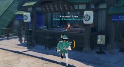 Talk To Kiminami Anna In Inazuma City