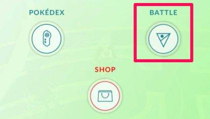 Choose Battle Option From Main Menu
