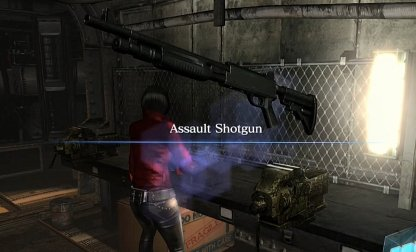 Assault Shotgun Is Found In This Area