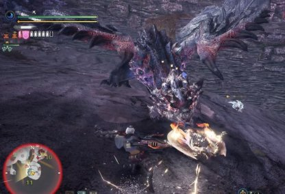 Silver Rathalos - Strike Its Head While Its In A Special Stance