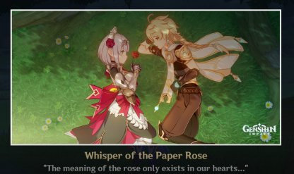 Whisper Of The Paper Rose