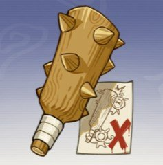 Giant Wooden Club