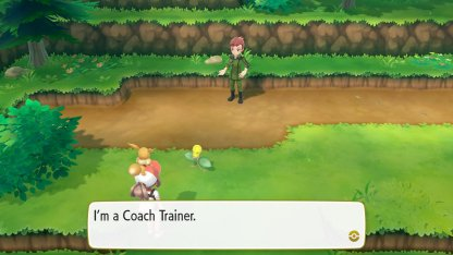 Coach Trainer Has A Lv.11 Bulbasaur