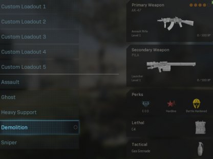 Best Beginner Default Loadout For Quick Play - Demolition