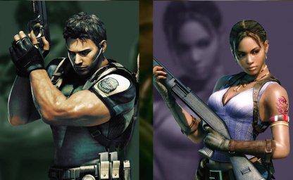 Play As Chris Redfield & Sheva Alomar