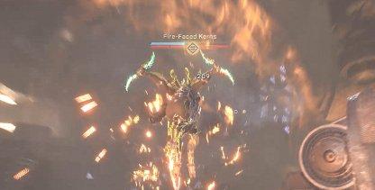 Focus Fire On Fire-Faced Kerns
