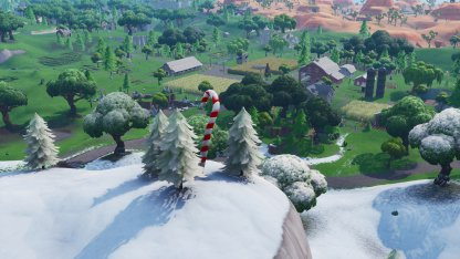 Candy Cane Locations Southwest of Fatal Fields