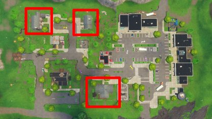 Fortnite Season 6 Week 4 Challenge Doorbell Location Retail Row