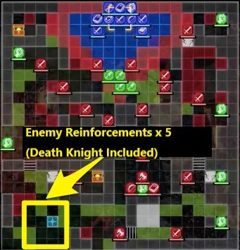 The Remire Calamity Battle Map - Death Knight Reinforcements
