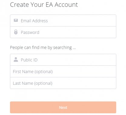 How To Make An EA Account: Guide & Tips