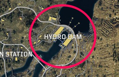 CoD: BO4 Best Spots To Land Hydro Dam
