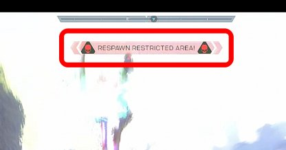 The Fight Is In A Respawn Restricted Area
