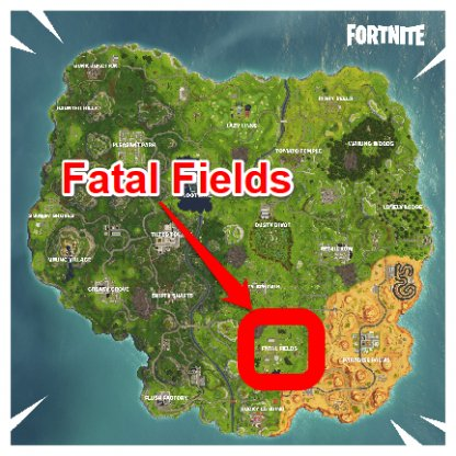 Fortnite Search a Chest in Fatal Fields