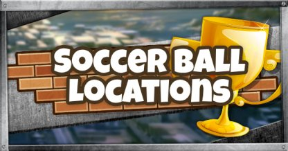 Soccer Ball Locations