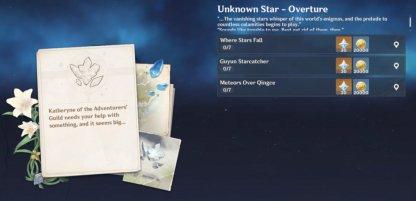 Unknown Star