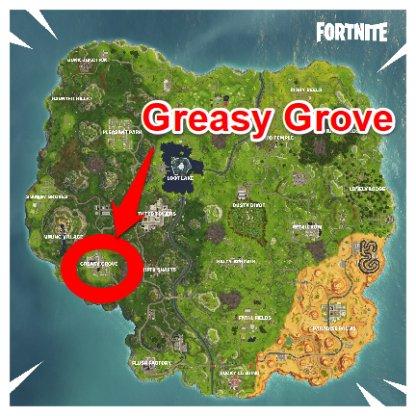 Fortnite Map Greasy Grove