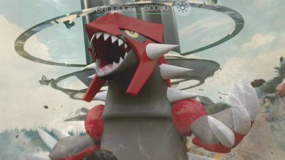 Groudon Raid Battle