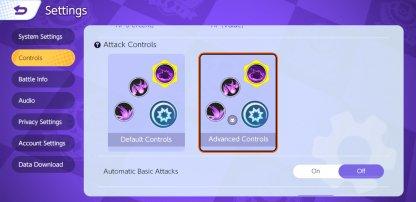 Mobile Attack Controls