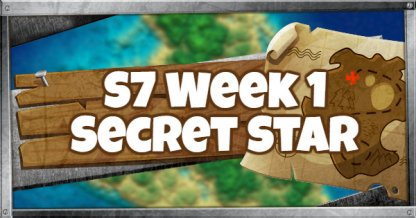 Fortnite Season 7 Week 1 Secret Battle Star